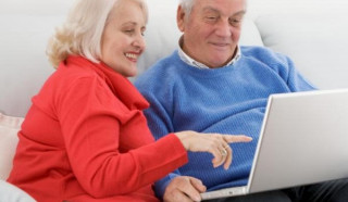 Интернет - помощник стариков.